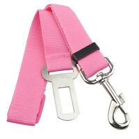 Pink Car Vehicle Auto Seat Safety Belt Seatbelt for Dog Pet T3Z1