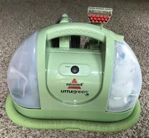 Bissell Little Green Machine Compact Carpet Floor Stair Steam Deep Cleaner LN
