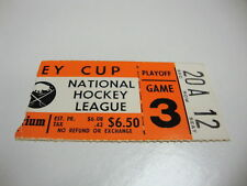 1977 BUFFALO SABRES TICKET STUB HOCKEY PLAYOFFS NY ISLA