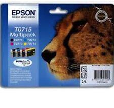 ORIGINALE Epson Cartuccia inchiostro T0711-T0714 T0715 ORIGINALE