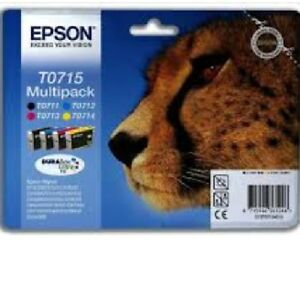 GENUINE EPSON INK CARTRIDGE T0711-T0714 ORIGINAL T0715