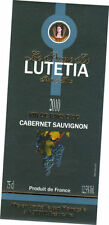 Etiquette de vin - Wine Label - La Princesse de Lutécia - MERLOT - 2010