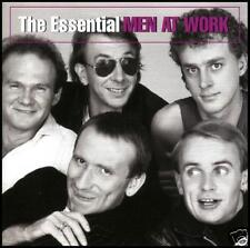 MEN AT WORK - THE ESSENTIAL CD ~ DOWN UNDER~OVERKILL ~ 80's AUSSIE POP *NEW*