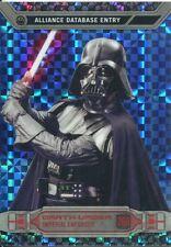 Star Wars Chrome Perspectives X-Fractor Parallel Base #26R Darth Vader