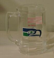 SEATTLE SEAHAWKS NFL BUDWEISER CANADA VINTAGE LTD, ED.  GRAPHIC BEER MUG PLASTIC