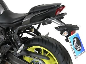 Yamaha MT-07 Protection Barre Arrière Lock-It - Anthracite Hepco & Becker (