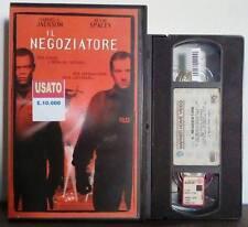VHS FILM Ita Azione IL NEGOZIATORE samuel l jackson spacey  EX NOLO no dvd(VHS11