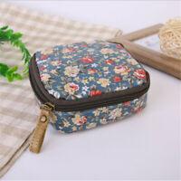 Women Zipper Cosmetic Bag Large Capacity Makeup Waterproof Toiletry Bag WA