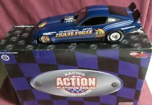 JOHN FORCE,  1/24 ACTION 1977 BLUE MONZA FUNNY CAR, BRUTE FORCE