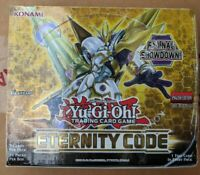 Yugioh TCG Eternity Code 1st Ed Booster Box Factory Sealed Box - Ready to Ship