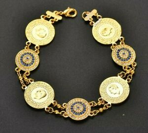Turkish Gold Coin Bracelet