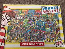 WHERE'S WALLY? WILD WILD WEST 1000-PIECE JIGSAW PUZZLE - PAUL LAMOND - SEALED!