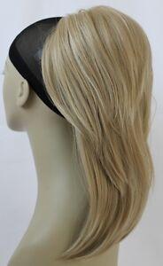"New Straight Synthetic Volumized Top layered drawstring ponytail 12"" UPDO Hairdo"