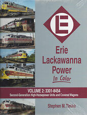 ERIE LACKAWANNA Power in Color, Vol. 2: 2nd Gen. High HP Units & Covered Wagons
