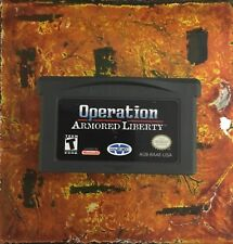 Operation Armored Light Nintendo Gameboy ADVANCE GBA Tested AUTHENTIC