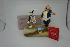 Classic BUGS BUNNY vs OPERA SINGER Figurine RON LEE ~ WB Warner Brothers 1992