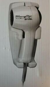 Andis 30135 1600-Watt Quiet Wall Mounted HangUp Hair Dryer, White