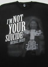 MICHAEL SWEET i'm not your suicide LARGE T-SHIRT stryper