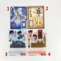 Anime Detective Conan acrylic Keychain Key Ring Race straps Cosplay A