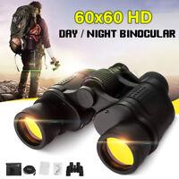 Day/Night 60x60 Military Zoom Binoculars Optics Hunting Camping 5-3000M