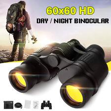 60x60 Day/Night 5-3000M Waterproof HD Hunting Binoculars Telescopes Outdoor
