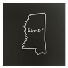 Mississippi Home State Map Wall Art Office Decor Gift Engraved MS