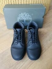 TIMBERLAND BOOTS ADVENTURE CUPSOL Black Lace Up School Shoes UK 7.5 / 41.5 - VGC