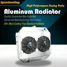 Aluminum Radiator + Fan Shroud For Ford Bronco F100 F150 F250 F350 F500 70-79