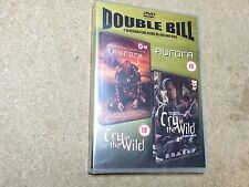 * NEW SEALED DOUBLE BILL FILM DVD * AURORA / CRY IN THE WILD *