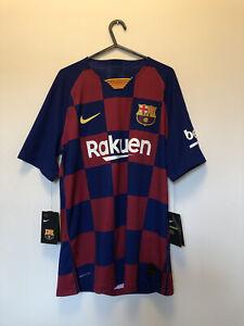 Barcelona player issue 19/20 Home Shirt Nike Vaporknit BNWT Medium Men's.