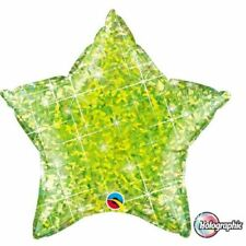 Ballons de fête verts etoile pour la maison toutes occasions