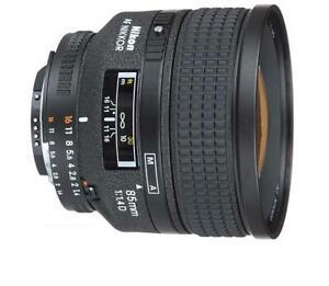Nikon Nikkor 85mm f/1.4 D IF Lens