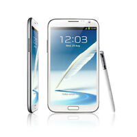 White Samsung Galaxy Note II GT-N7100 16GB Unlocked Android GSM 3G Mobile Phone
