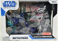 STAR WARS Clone Wars Battle of Christophsis Battle Pack TARGET EXCLUSIVE 2008