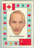 Bill Goldsworthy 1972-73 OPC '72 O-Pee-Chee Team Canada Insert NHL Card #12 EX