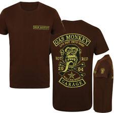 OFFICIEL gas monkey garage hommes Patch T-Shirt bière Assistant LUXE Version GMG