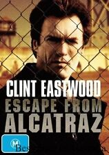 Escape From Alcatraz DVD TOP 1000 MOVIES CLINT EASTWOOD TRUE STORY BRAND NEW R4