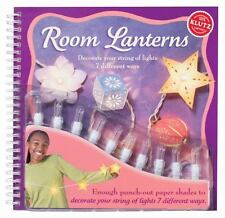 Klutz Room Lanterns - Decorate a String of Lights - New
