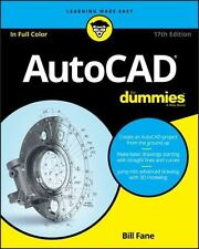 AutoCAD for Dummies by David Byrnes and Bill Fane (2016, Paperback)