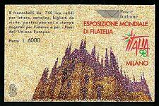 Italia -  1996 Libretto Expo Filatelia '98 - nuovo e perfetto