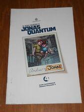 INFINITE ADVENTURES OF JONAS QUANTUM #4 LEGENDARY COMICS