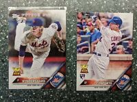 2016 Topps Series 1 Michael Conforto RC NY Mets+ 🌟Noah Syndergaard FS Rook. Cup