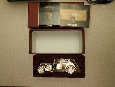 Corgi 1:43 CC06804 Gold Plated 1937 Rolls Royce Sedance de Ville  Untouched