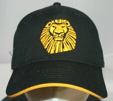 Disney The Lion King Broadway Musical StrapBack Baseball Hat Cap NWT ships boxed