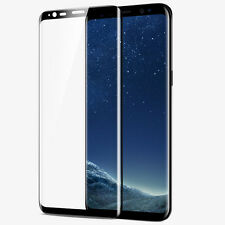 Clear Curved 3D Tempered Glass Screen Protector For Samsung Galaxy S8 S8+ Plus