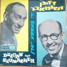jewish yiddish humor sketches LP - dzigan & shumacher- best of syrena poland