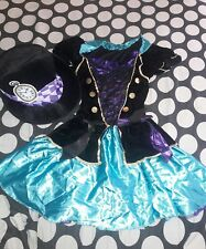Mad Hatter Costume Adult Halloween Fancy Dress size medium