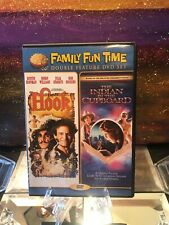 Family Fun Time, Hook / Indian In The Cupboard Double Feature  DVD - Rare! Nice!