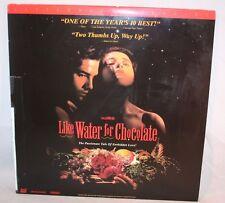 Laserdisc [w] *Like Water For Chocolate*Marco Leonardi Lumi Cavazos Regina Torné