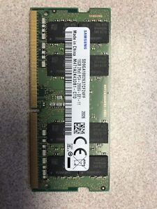 New Samsung 16GB 2Rx8 PC4-2666V-SE1-11. Laptop Memory. SODIMM. RAM.